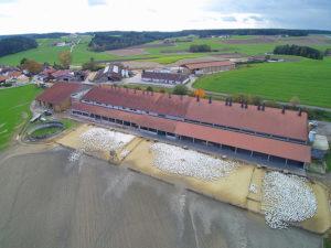 Geflügelhof Lugeder - Vogelperspektive